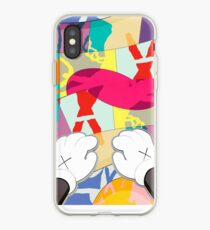 kaws paws 2 mickey   iPhone Case