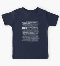 I am your host, your Ghost Host...(White) Kids Clothes