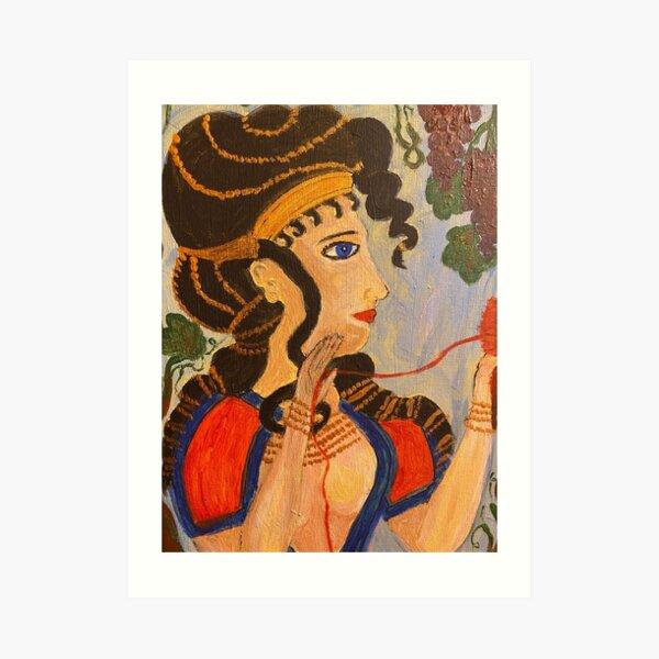 Ariadne, Cretan Princess Art Print