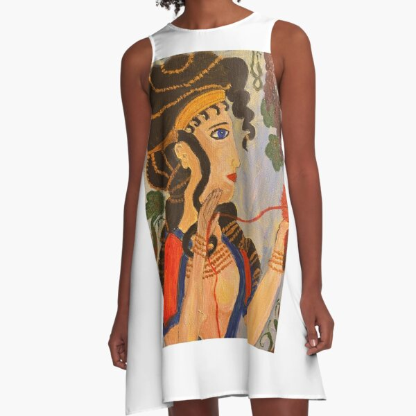 Ariadne, Cretan Princess A-Line Dress