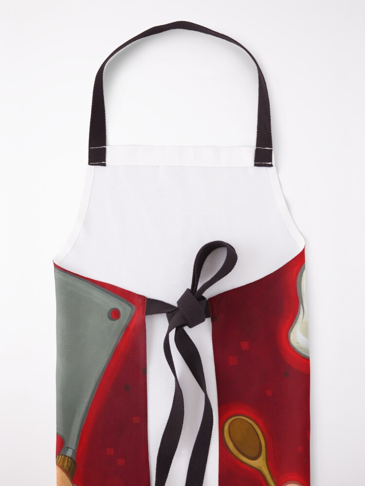 Alternate view of Swedish Chef and Chicken Apron