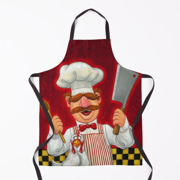 Swedish Chef and Chicken Apron