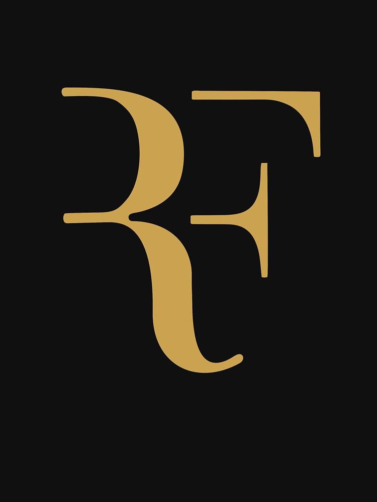 Roger Federer gold | Unisex T-Shirt