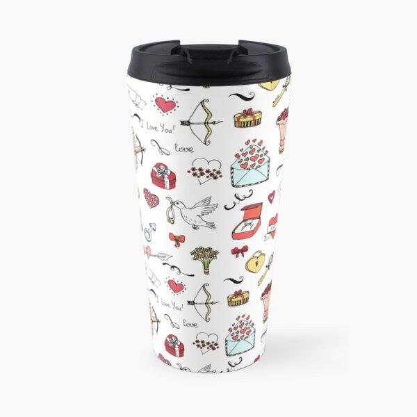 Happy Valentine's Day background Travel Mug