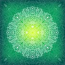 - Mandala green - by Losenko  Mila