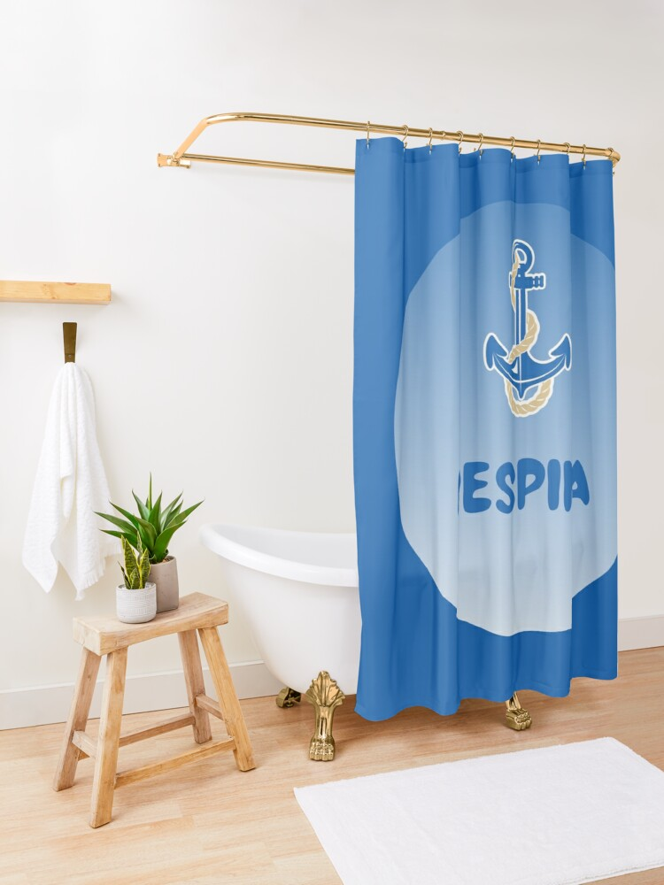 Alternate view of Despina Shower Curtain