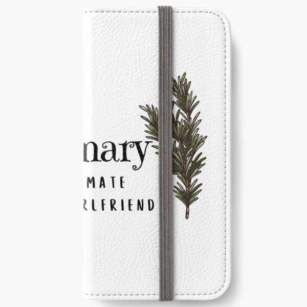 Rosemary: the ultimate lesbian girlfriend iPhone Wallet