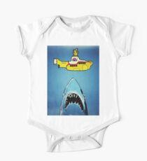 Jaws-Yellow Submarine  One Piece - Short Sleeve