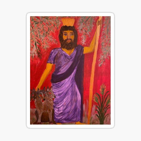 Plouton/Hades God of the Underworld Sticker