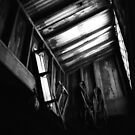 Barn Skylight - B&W by klcblair