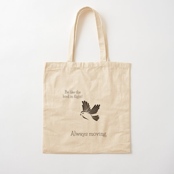 Always moving Cotton Tote Bag