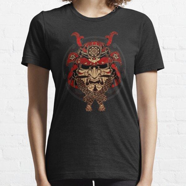 Samurai Krieger Maske Essential T-Shirt