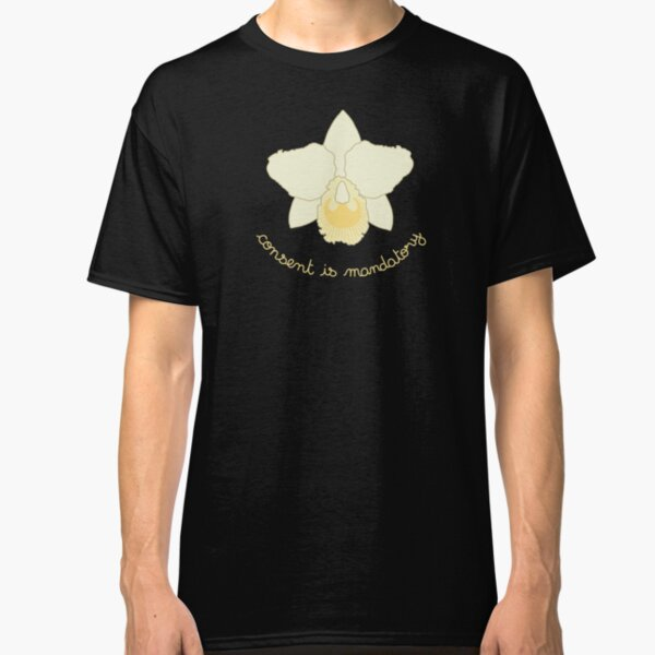 Consent is Mandatory - Yellow Orchid Classic T-Shirt