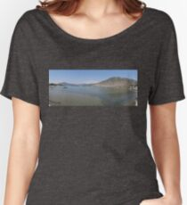 Panoramic Seascape of The Bay of Selimiye, Turkey Women's Relaxed Fit T-Shirt