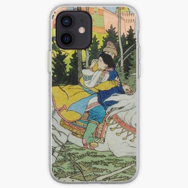 Ivan Tsarevich Steals Marya Morevna Ivan Bilibin iPhone Soft Case