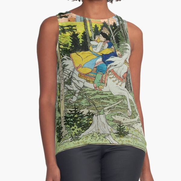 Ivan Tsarevich Steals Marya Morevna Ivan Bilibin Sleeveless Top