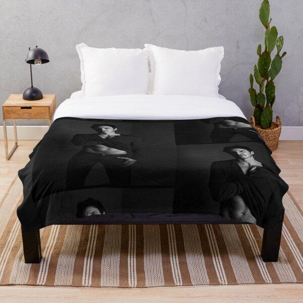 Pedro Pascal B&W Throw Blanket