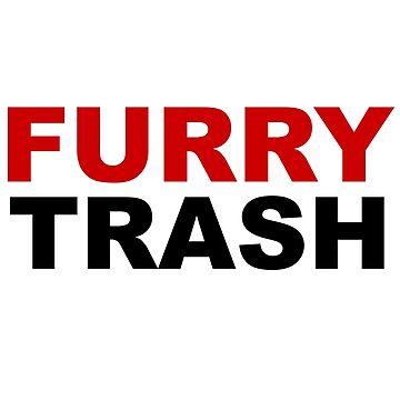 Furry TRASH by koartss