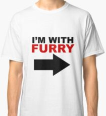 I'm With Furry Classic T-Shirt