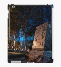 A Werewolf in the Graveyard iPad Case/Skin