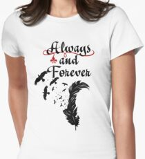 Klaus. Always and Forever. Women's Fitted T-Shirt