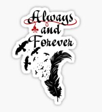 Klaus. Always and Forever. Sticker