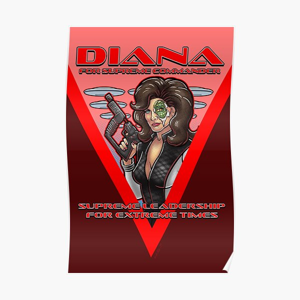 Diana For Supreme Commander Poster