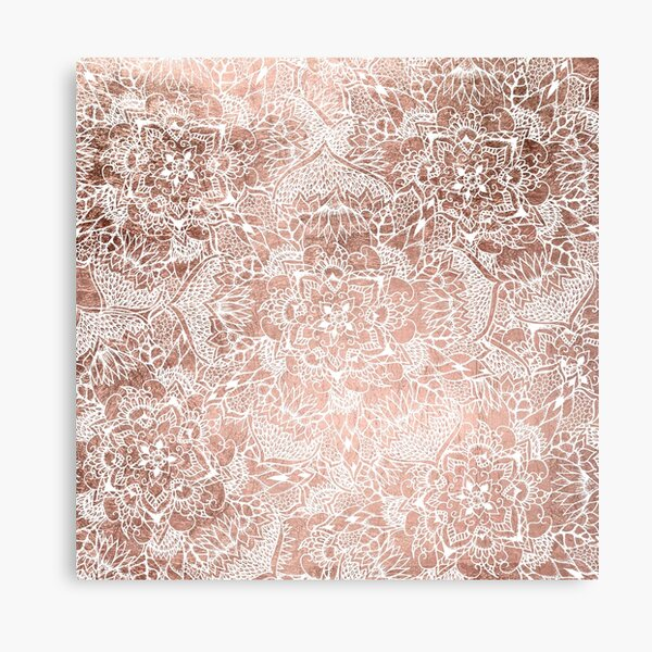 Life Is An Adventure Rose Gold Silver Foil Print Sign Poster Home Decor Wall Art