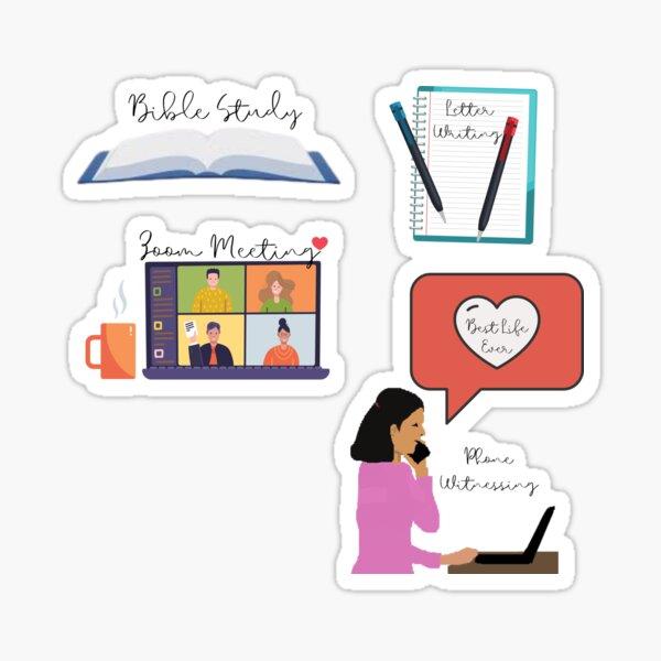 JW Sticker Pack - Essentials Sticker