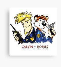 Calvin and Hobbes - PI Canvas Print