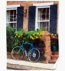 Parked Bicycle Poster