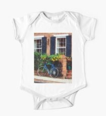 Parked Bicycle One Piece - Short Sleeve