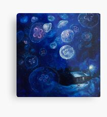 It's Jellyfishing Outside Tonight Metal Print