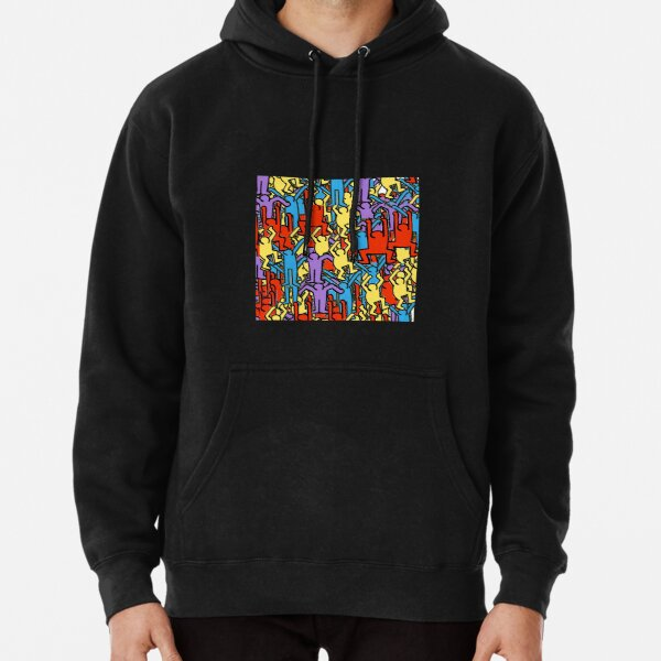 Keith Haring - Keith Haring tanzt Hoodie