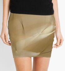 Abstract Fur Mini Skirt