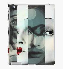 face mash up #1 iPad Case/Skin