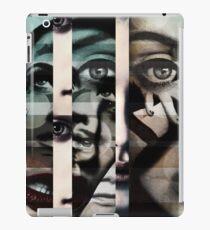 face  mash up#2 iPad Case/Skin