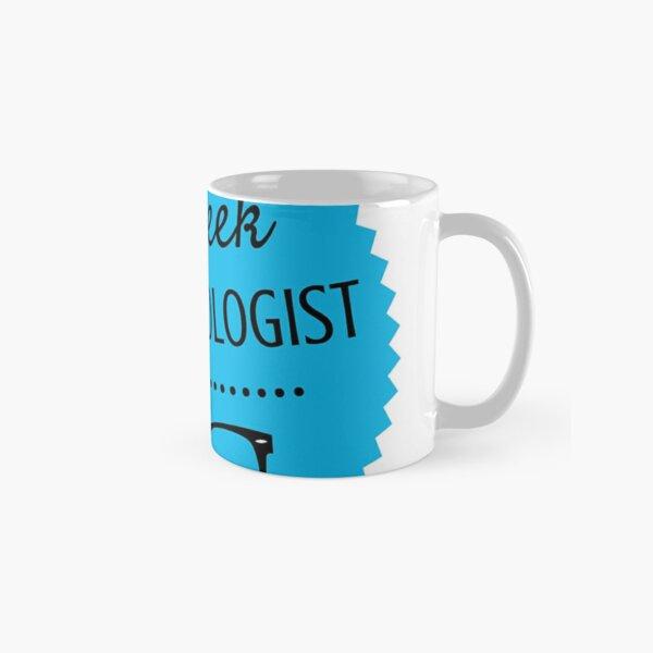 The Geek Anthropologist logo Wide Classic Mug