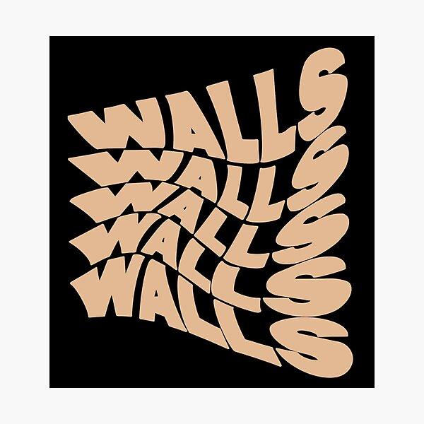 Peach Walls Photographic Print