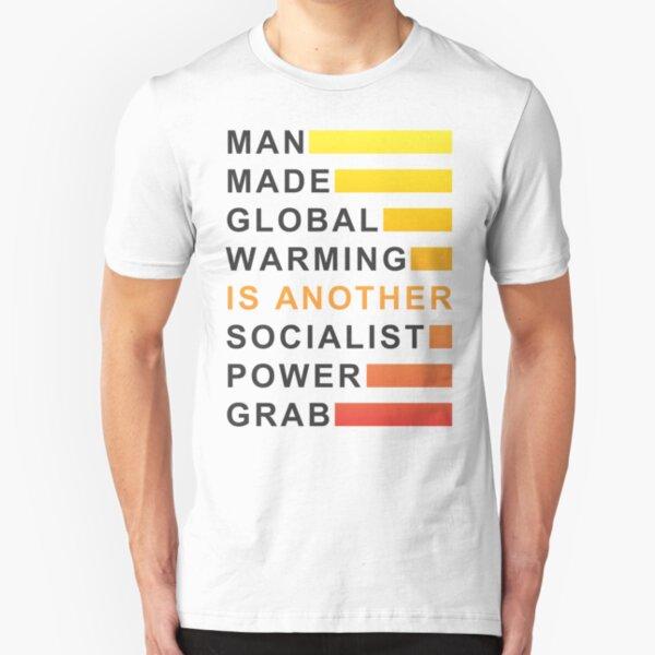 Socialist Power Grab Slim Fit T-Shirt