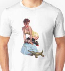 pin up girl Unisex T-Shirt