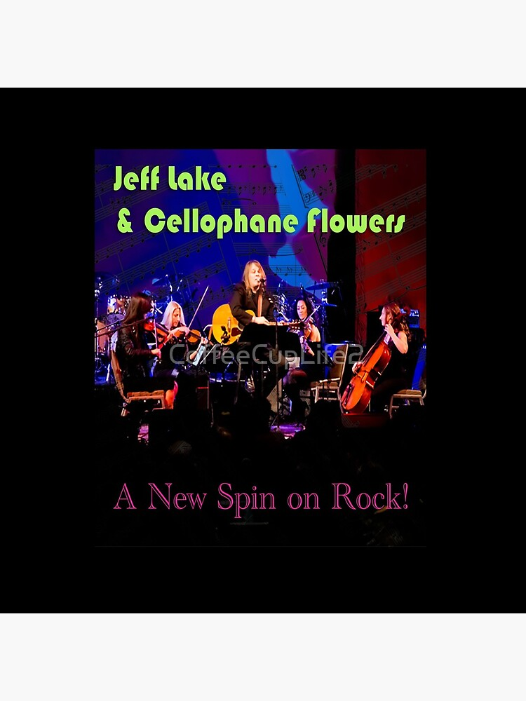 Jeff Lake & Cellophane Flowers by CoffeeCupLife2
