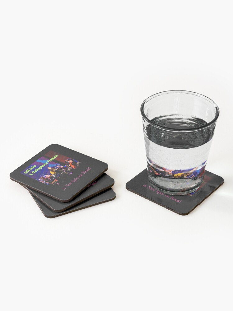 Alternate view of Jeff Lake & Cellophane Flowers Coasters (Set of 4)