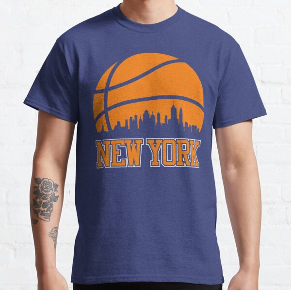 Retro Knicks Basketball New York City Skyline Classic T-Shirt