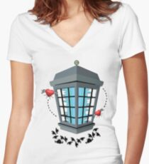 The Love Zapper Women's Fitted V-Neck T-Shirt