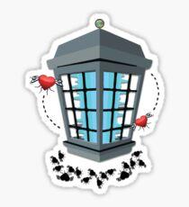 The Love Zapper Sticker