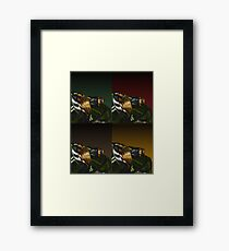 Automotive Pop Framed Print