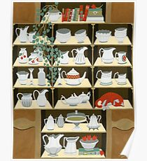 China cabinet Poster