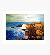 Washington Coast Art Print