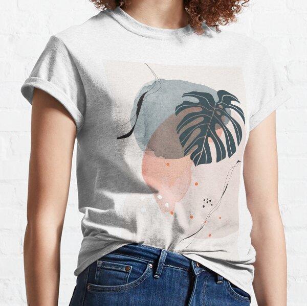 Monstera Greenery Classic T-Shirt